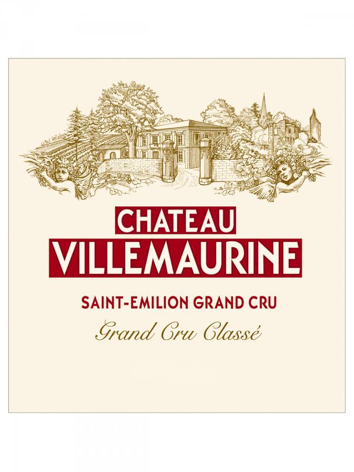 Château Villemaurine 2015 Original wooden case of 6 bottles (6x75cl)