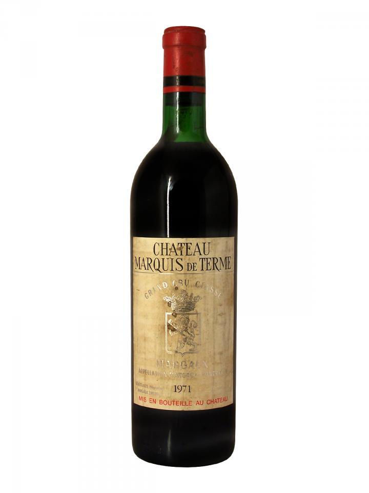 Château Marquis de Terme 1971 Bottle (75cl)