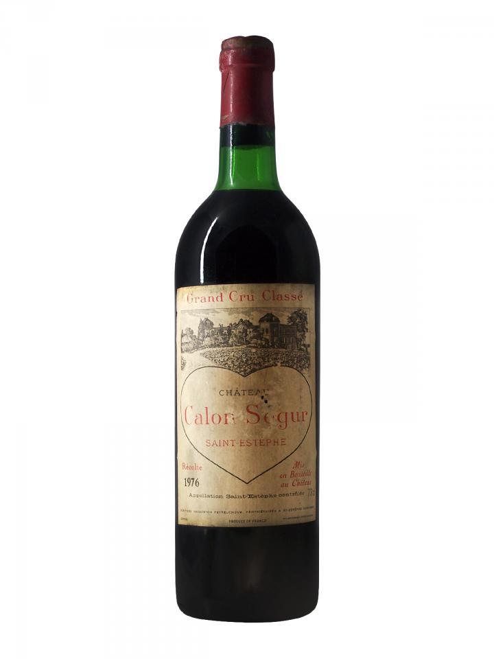 Château Calon-Ségur 1976 Bottle (75cl)