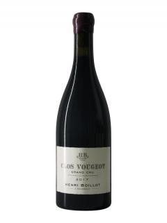 Clos Vougeot Grand Cru Domaine Henri Boillot 2017 Bottle (75cl)