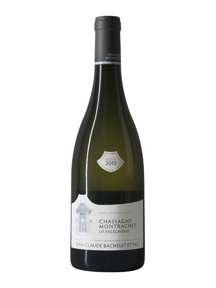 Chassagne-Montrachet Les Encégnières Jean-Claude Bachelet et Fils 2015 Bottle (75cl)