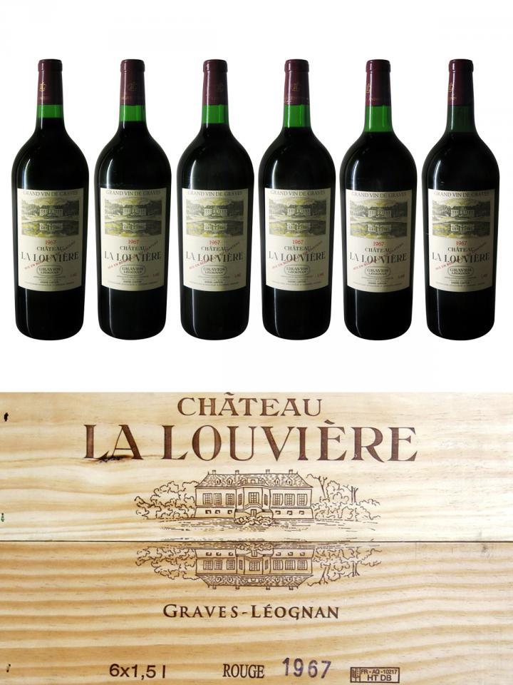 Château La Louvière 1967 Original wooden case of 6 magnums (6x150cl)