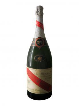 Champagne G.H Mumm Cordon Rouge Brut 1971 Magnum (150cl)