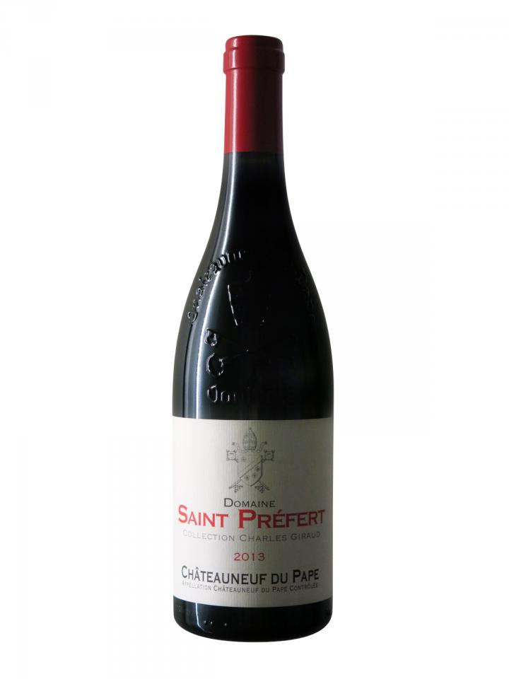 Chateauneuf-du-Pape Domaine Saint-Préfert Collection Charles Giraud 2013 Bottle (75cl)