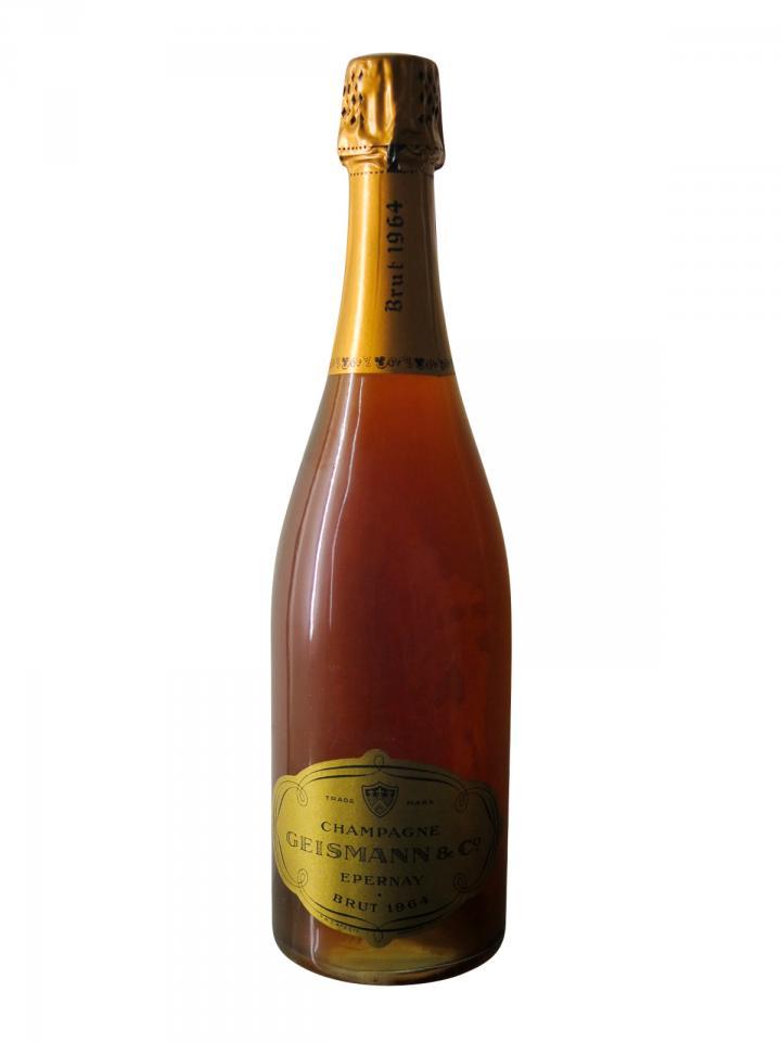 Champagne Geismann Rosé Brut 1964 Bottle (75cl)