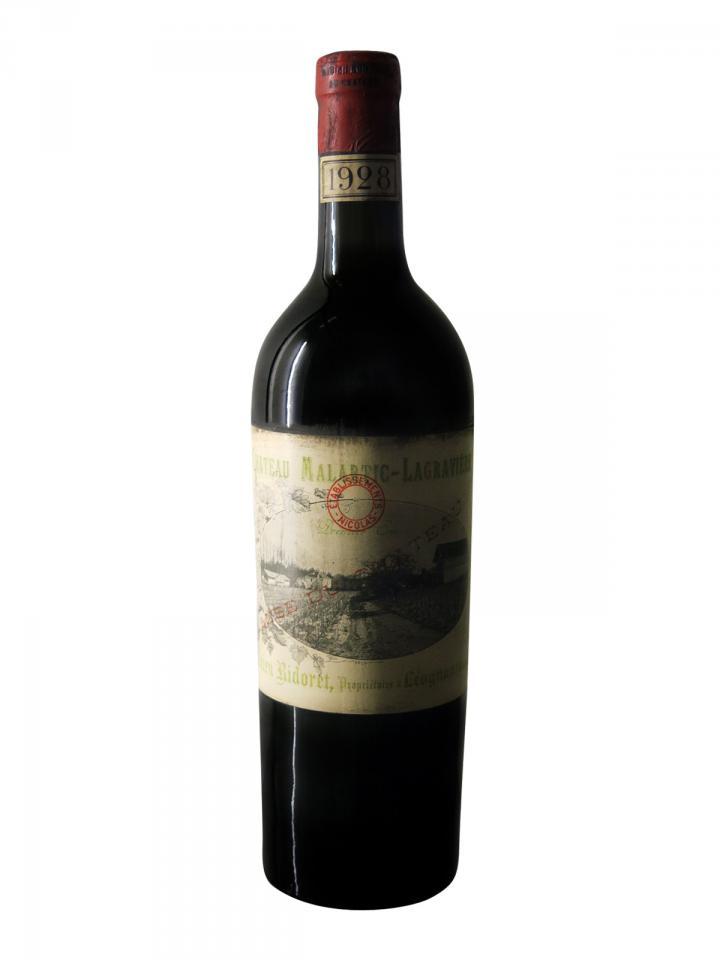 Château Malartic-Lagravière 1928 Bottle (75cl)