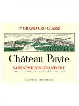 Château Pavie 2010 Original wooden case of 6 bottles (6x75cl)