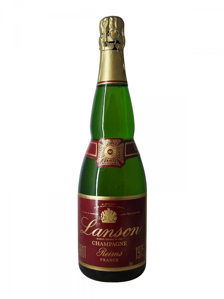 Champagne Lanson Brut 1975 Bottle (75cl)