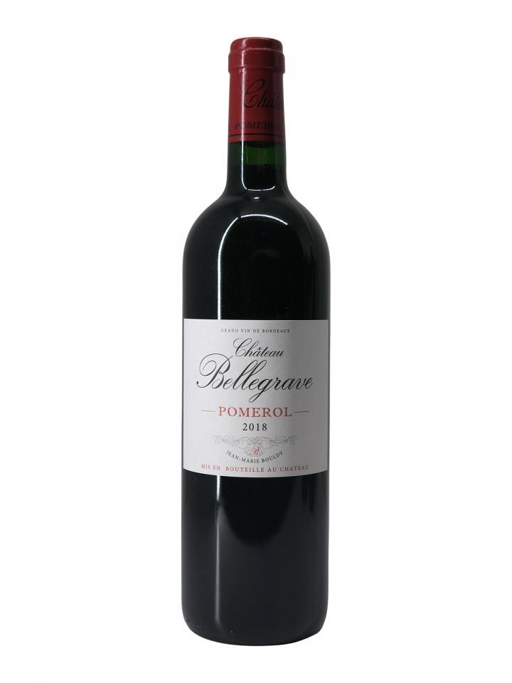 Chateau Bellegrave (Pomerol) 2018 Bottle (75cl)