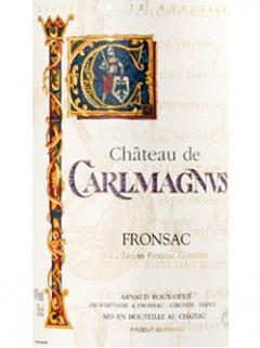 Château de Carlmagnus 2018 Bottle (75cl)