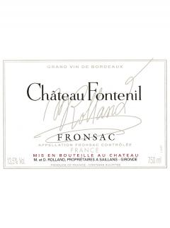 Château Fontenil 2013 Original wooden case of 6 bottles (6x75cl)