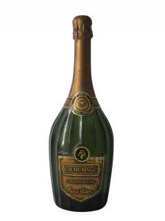 Champagne G.H Mumm René Lalou Brut 1975 Bottle (75cl)