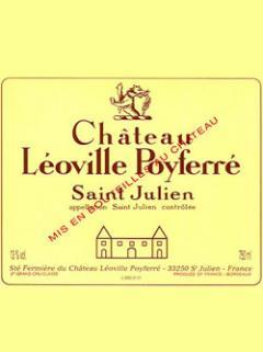 Château Léoville Poyferré 2008 Original wooden case of 12 bottles (12x75cl)