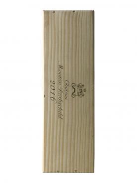 Château Mouton Rothschild 2016 Original wooden case of one magnum (1x150cl)