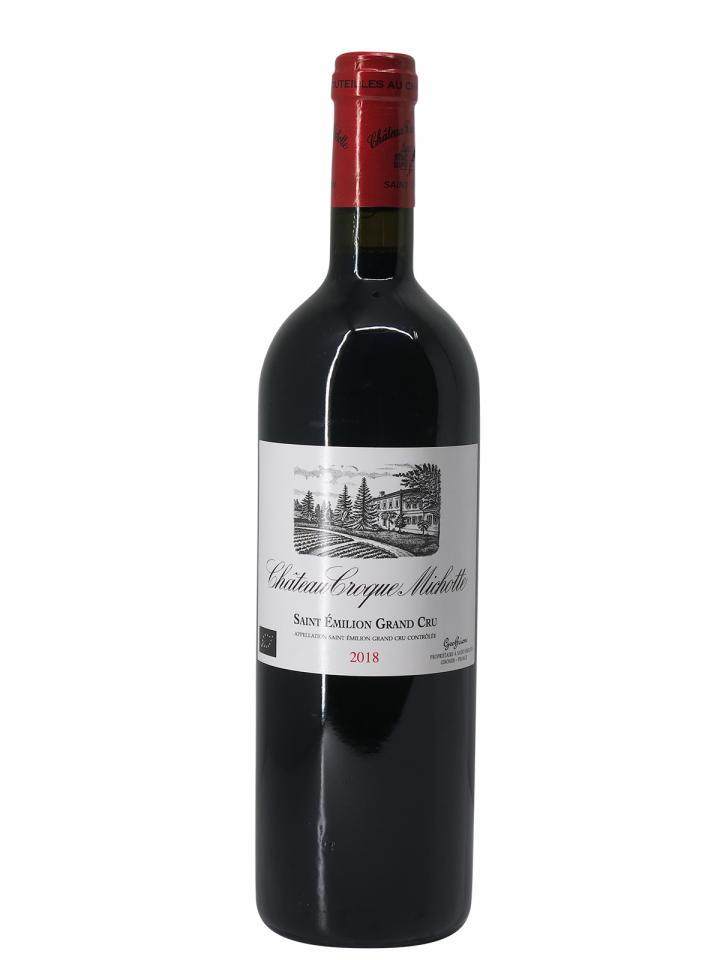 Château Croque Michotte 2018 Bottle (75cl)