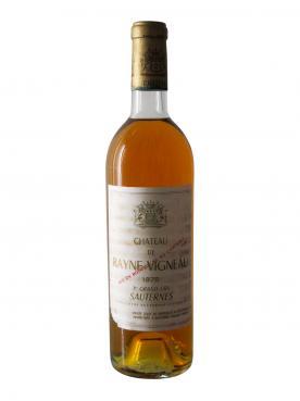 Château de Rayne Vigneau 1975 Bottle (75cl)