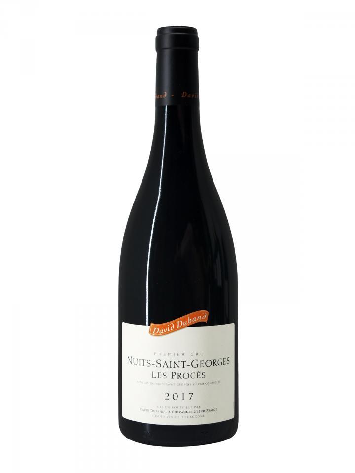 Nuits-Saint-Georges 1er Cru Les Procès David Duband 2017 Bottle (75cl)