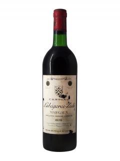 Château Labégorce Zédé 1975 Bottle (75cl)