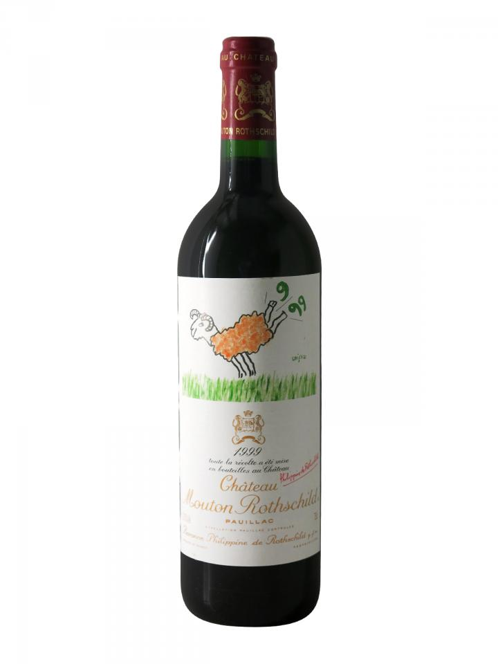 Château Mouton Rothschild 1999 Bottle (75cl)