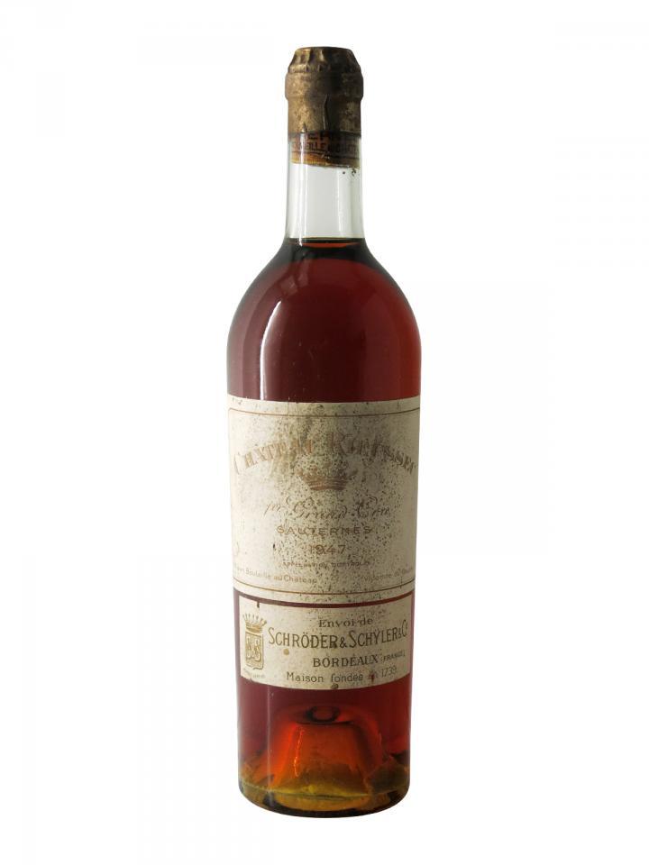 Château Rieussec 1947 Bottle (75cl)
