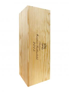 Château Mouton Rothschild 2015 Original wooden case of one impériale (1x600cl)