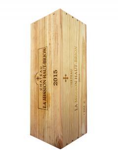 Château La Mission Haut-Brion 2015 Original wooden case of one double magnum (1x300cl)