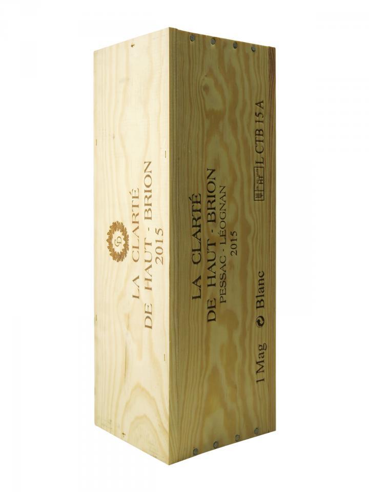 La Clarté de Haut Brion 2015 Original wooden case of one magnum (1x150cl)