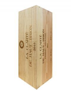 La Clarté de Haut Brion 2015 Original wooden case of one impériale (1x600cl)
