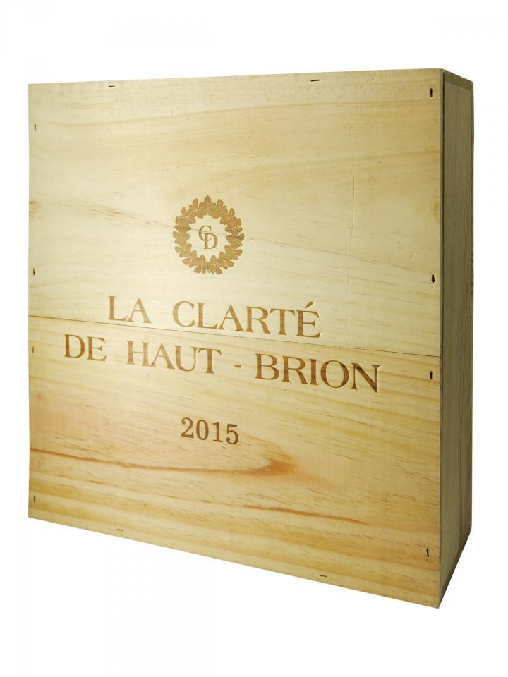 La Clarté de Haut Brion 2015 Original wooden case of 3 magnums (3x150cl)