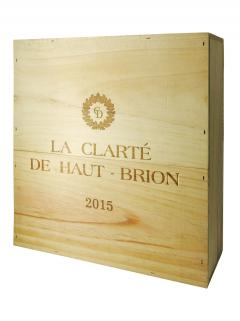 La Clarté de Haut Brion 2015 Original wooden case of 3 magnums (3x150cl)