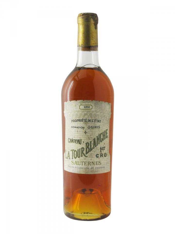 Château La Tour Blanche 1950 Bottle (75cl)
