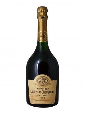 Champagne Taittinger Comtes de Champagne Blanc de Blancs Brut 1990 Bottle (75cl)