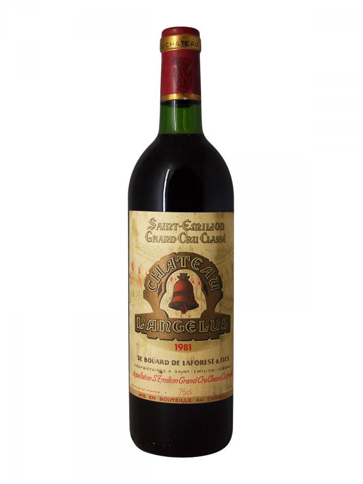 Château Angélus 1981 Bottle (75cl)