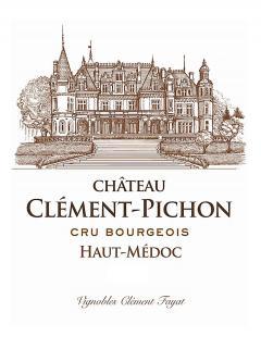 Château Clément-Pichon 2012 Original wooden case of 12 half bottles (12x37.5cl)