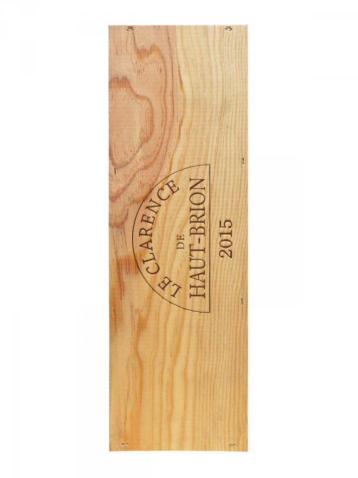 Le Clarence de Haut-Brion 2015 Original wooden case of one double magnum (1x300cl)