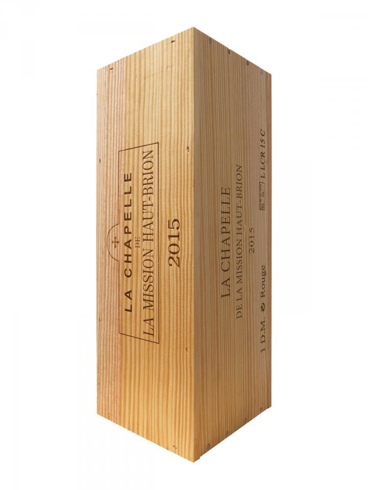 La Chapelle de la Mission Haut-Brion 2015 Original wooden case of one double magnum (1x300cl)