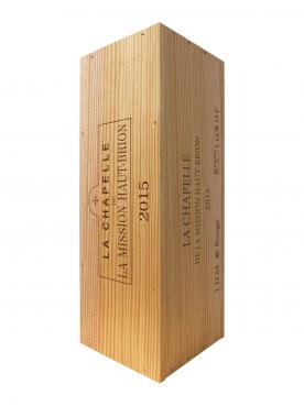 La Chapelle de la Mission Haut-Brion 2015 Original wooden case of one double magnum (1x300cl)