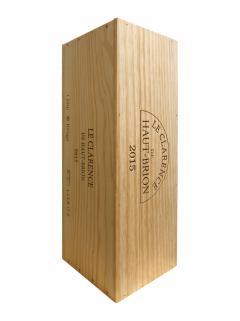 Le Clarence de Haut-Brion 2015 Original wooden case of one impériale (1x600cl)