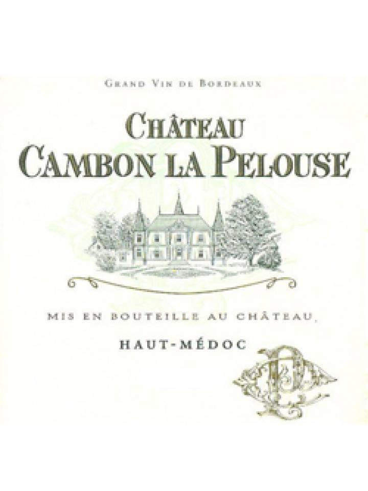 Château Cambon La Pelouse 2014 Original wooden case of 6 bottles (6x75cl)