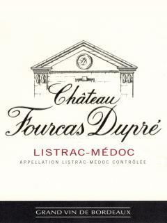 Château Fourcas Dupré 2012 Original wooden case of 12 half bottles (12x37.5cl)