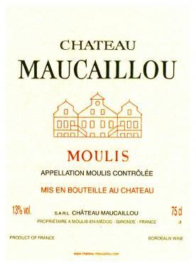 Château Maucaillou 2014 Original wooden case of 6 bottles (6x75cl)