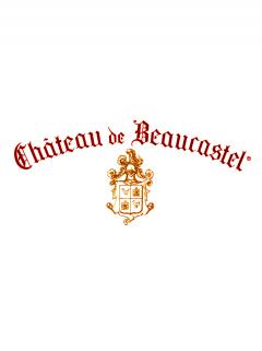 Chateauneuf-du-Pape Château de Beaucastel Hommage à Jacques Perrin 2014 Original wooden case of 3 bottles (3x75cl)