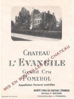 Château l'Evangile 2012 Original wooden case of one magnum (1x150cl)