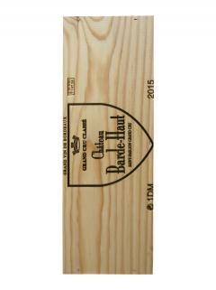 Château Barde-Haut 2015 Original wooden case of one double magnum (1x300cl)