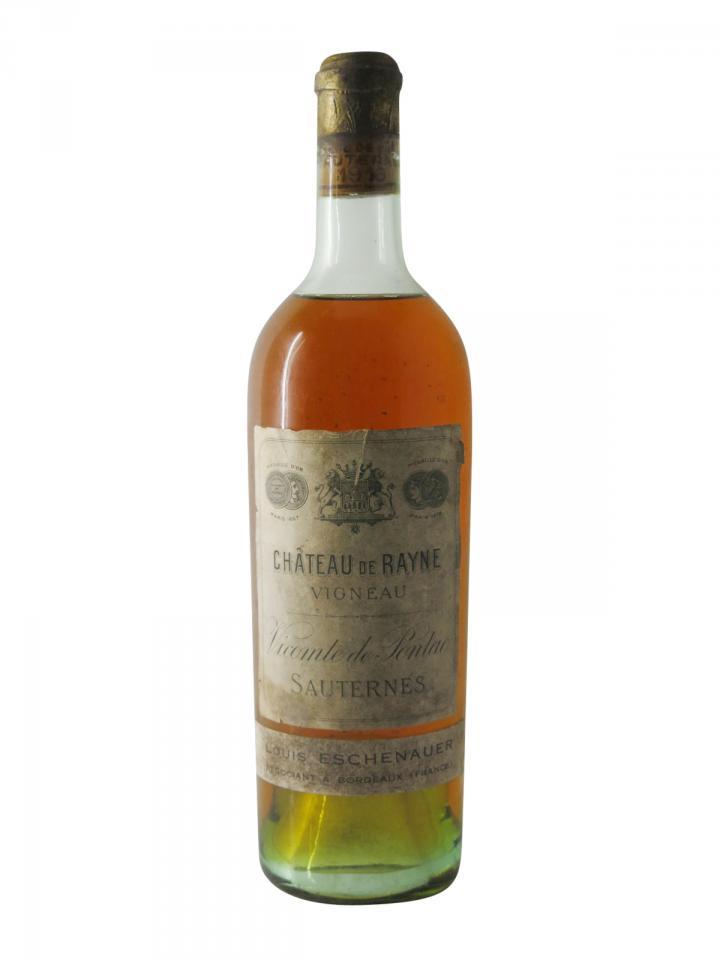 Château Coutet 1916 Bottle (75cl)