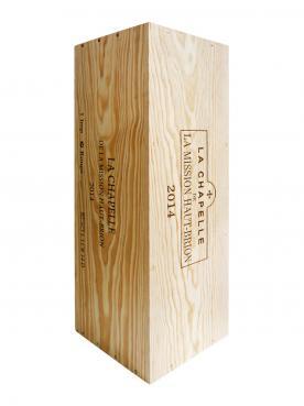 La Chapelle de la Mission Haut-Brion 2014 Original wooden case of one impériale (1x600cl)