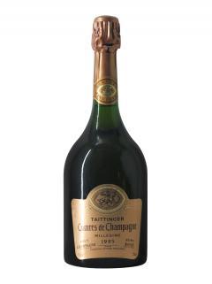 Champagne Taittinger Comtes de Champagne Rosé Brut 1995 Bottle (75cl)