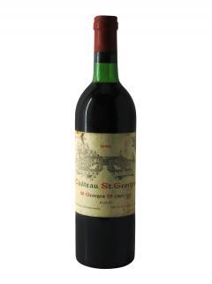 Château Saint-Georges 1980 Bottle (75cl)
