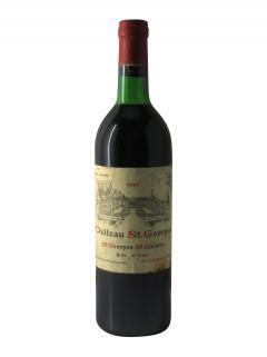Château Saint-Georges 1981 Bottle (75cl)