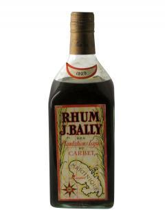 Rhum Plantations Lajus du Carbet J. Bally 1929 Bottle (70cl)